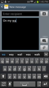 Android (Jelly Bean) Autocorrect